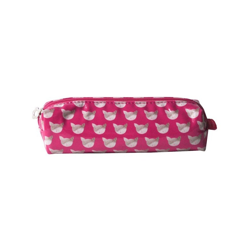 Trousse Ecole CHAT Rose
